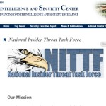 National Insider Threat Task Force