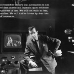 Edward R. Murrow vs Senator Joseph McCarthy